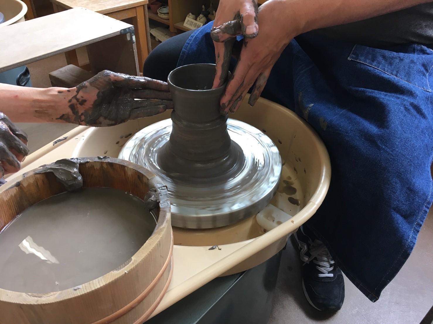【石川】ろくろ陶芸体験、カタチに残る思い出をつくろう!