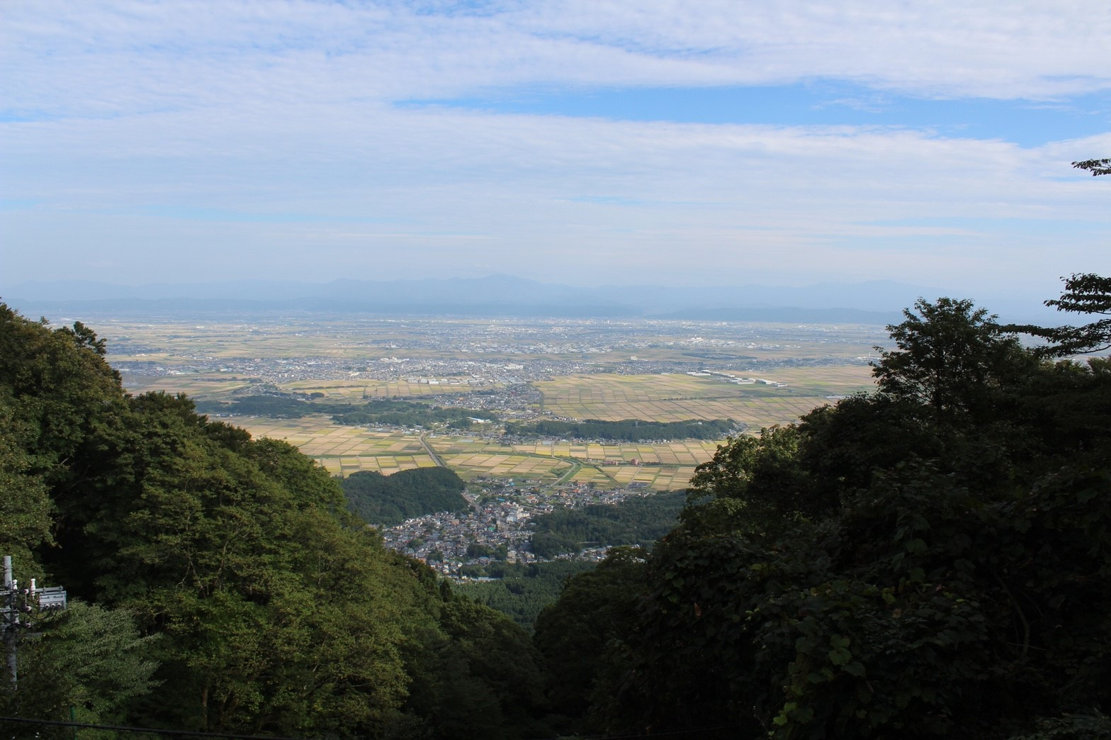 新潟の田園