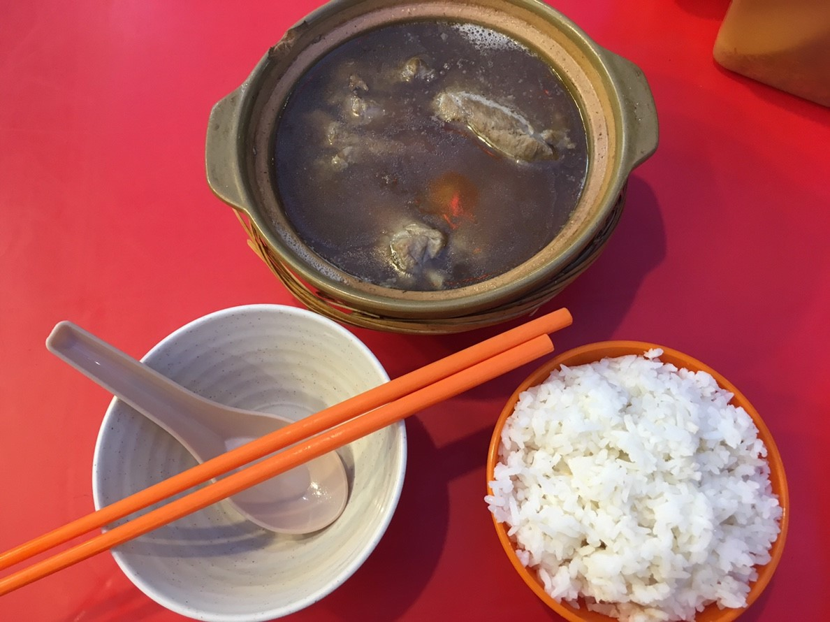 ブキビンタンの肉骨茶(バクテー)