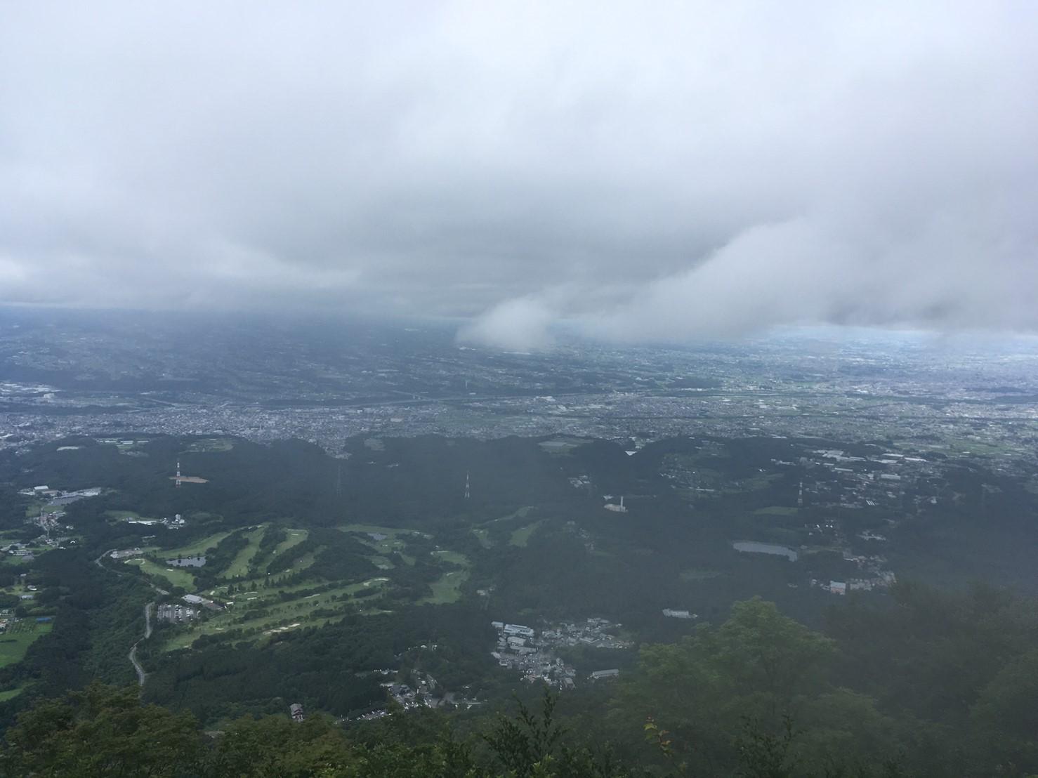 水澤山展望