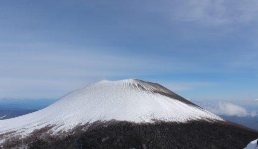 【群馬県 浅間山】スノーシューで雪散歩、トーミの頭から眺める絶景の浅間山!