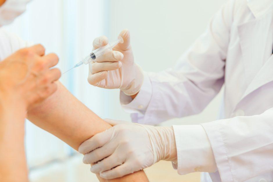 ワクチン注射